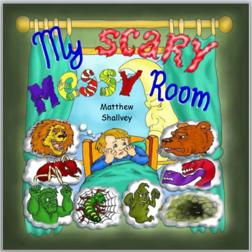 msbooksandgames My Scary Messy Room
