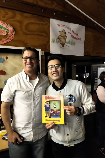 msbooksandgames book launch with Oliver Phommavanh
